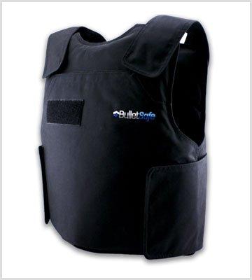 Black 4XL BulletSafe IIIA bulletproof vest