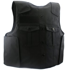 Black uniform carrier