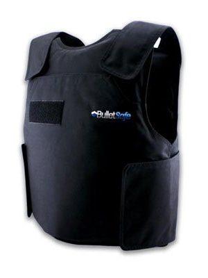 Black 4XL Bulletsafe bulletproof vest